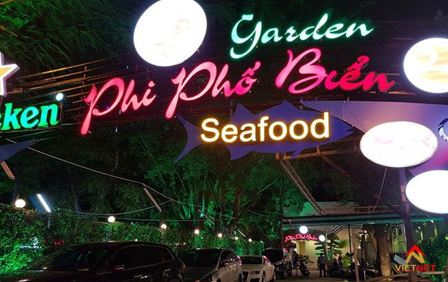 Bảng hiệu quảng cáo nhà hàng hải sản